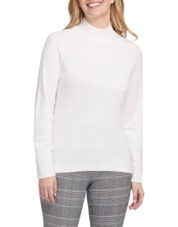 Tribal Sportswear LS Mock Neck Sweater