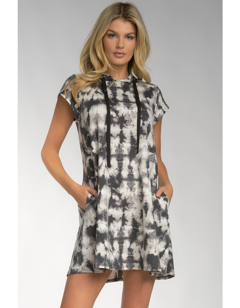 Cap Slv Dress w/Hood
