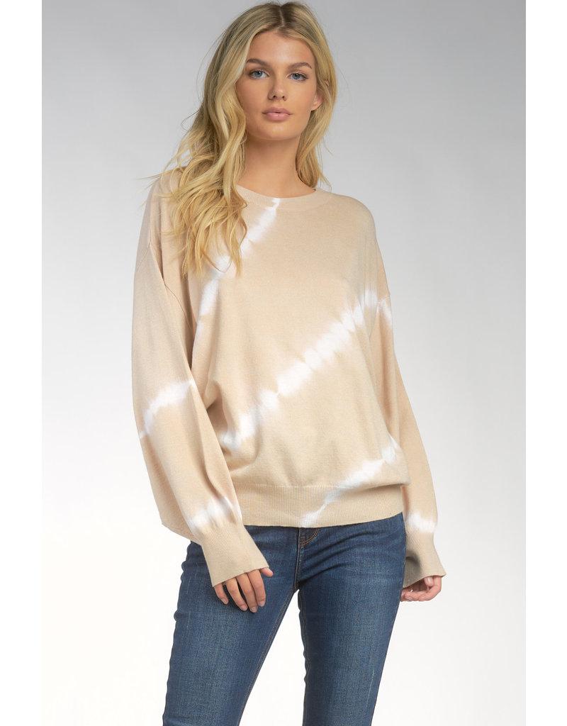 Crew Neck Tie Dye Sweater