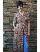 Tribal Sportswear Button Front Dress