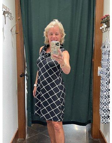 Lulu-B V-Neck Ruffle Dress UPF50