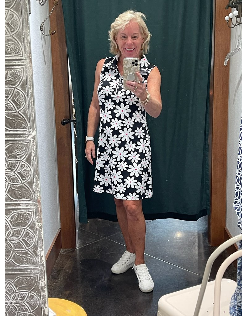 Lulu-B Sleeveless Zip Swing Dress UPF 50