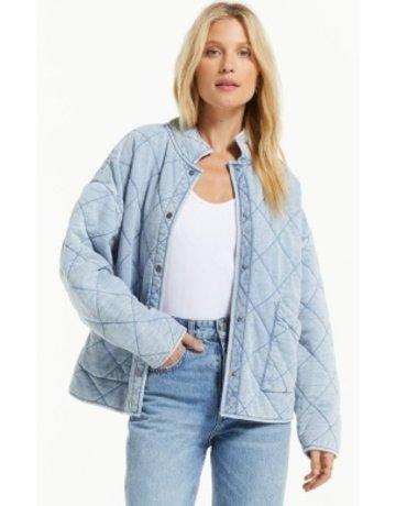 Z Supply Maya Knit Denim Jacket