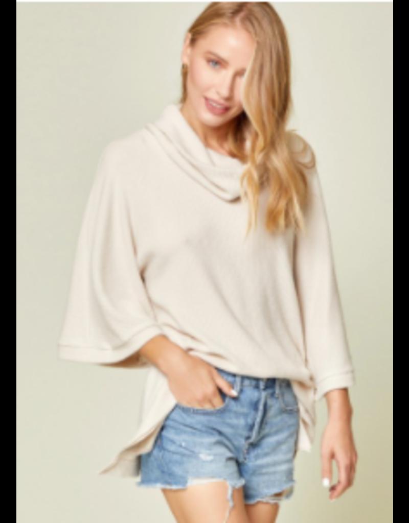 Savanna Jane Solid Sweater Tunic