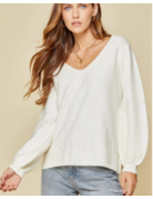 Savanna Jane Soft Rib Knit Sweater