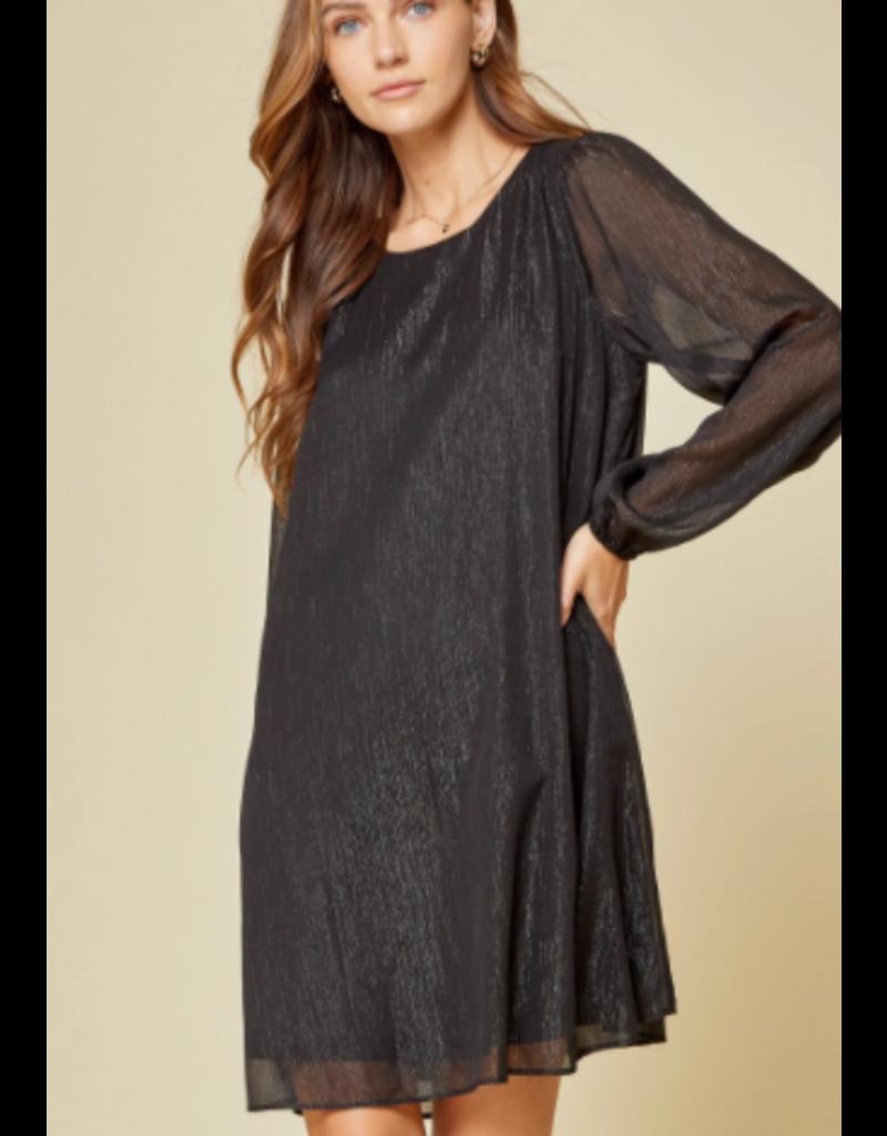 Savanna Jane Shimmer Shift Dress