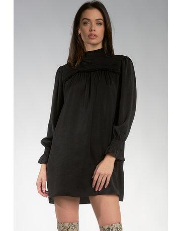 LS Mock Neck Dress