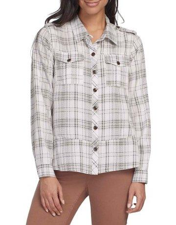 Tribal Sportswear A-Line Shacket