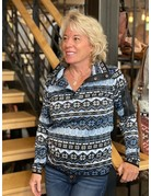 Wooly Bully Feisty Half Snap Pullover