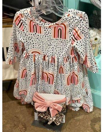 Mila & Rose Rainbow Twirl Dress