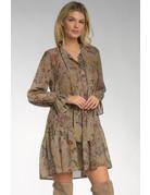 Vneck Ruffle Dress