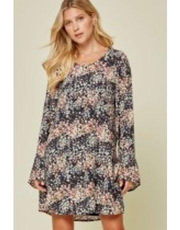 Savanna Jane Printed Shift Dress