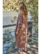 By Together Knit LS Maxi Cardigan