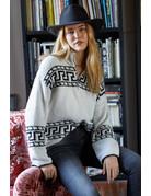 Zipper Collar Sweater