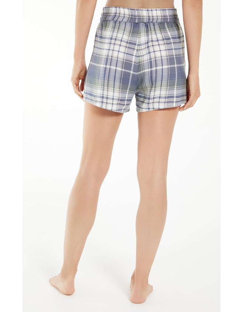 Z Supply Co-Ed Plaid Flannel Boxer