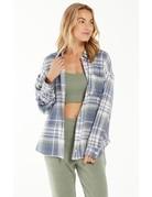 Z Supply Road Trip Plaid Flannel Shirt