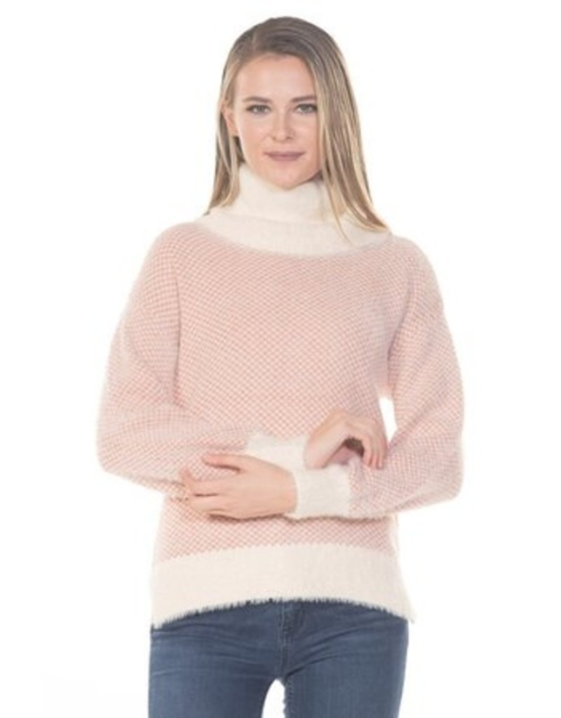 Rain & Rose Long Sleeve Sweater Turtle