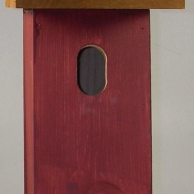 Timberway Designs Bird House - Bluebird Square