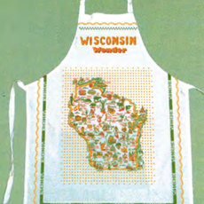 Keep the Faye Wonders of Wisconsin Apron