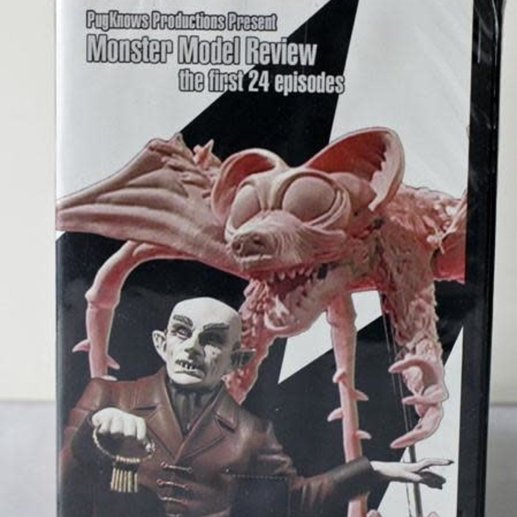 PugKnows Productions Monster Model Review DVD Pack