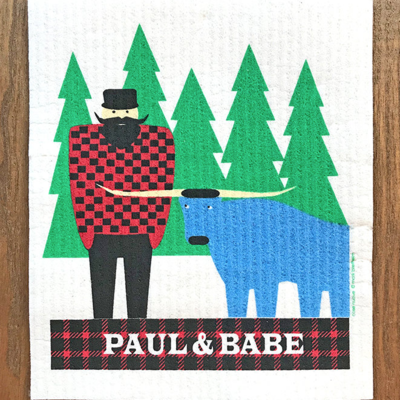 Volume One Swedish Dishcloth - Paul Bunyan