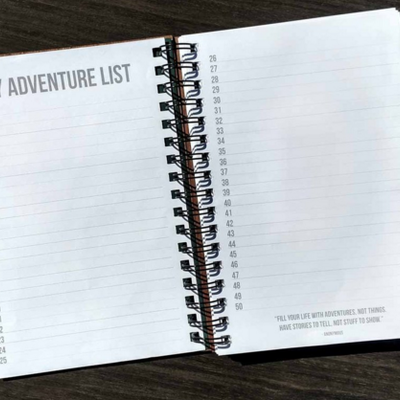 Woodchuck Wood Journal - Adventure