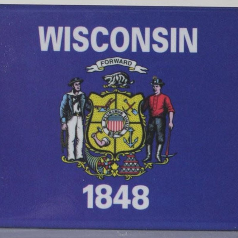 Volume One WI Flag Magnet