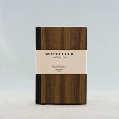 Woodchuck Wood Journal - Walnut