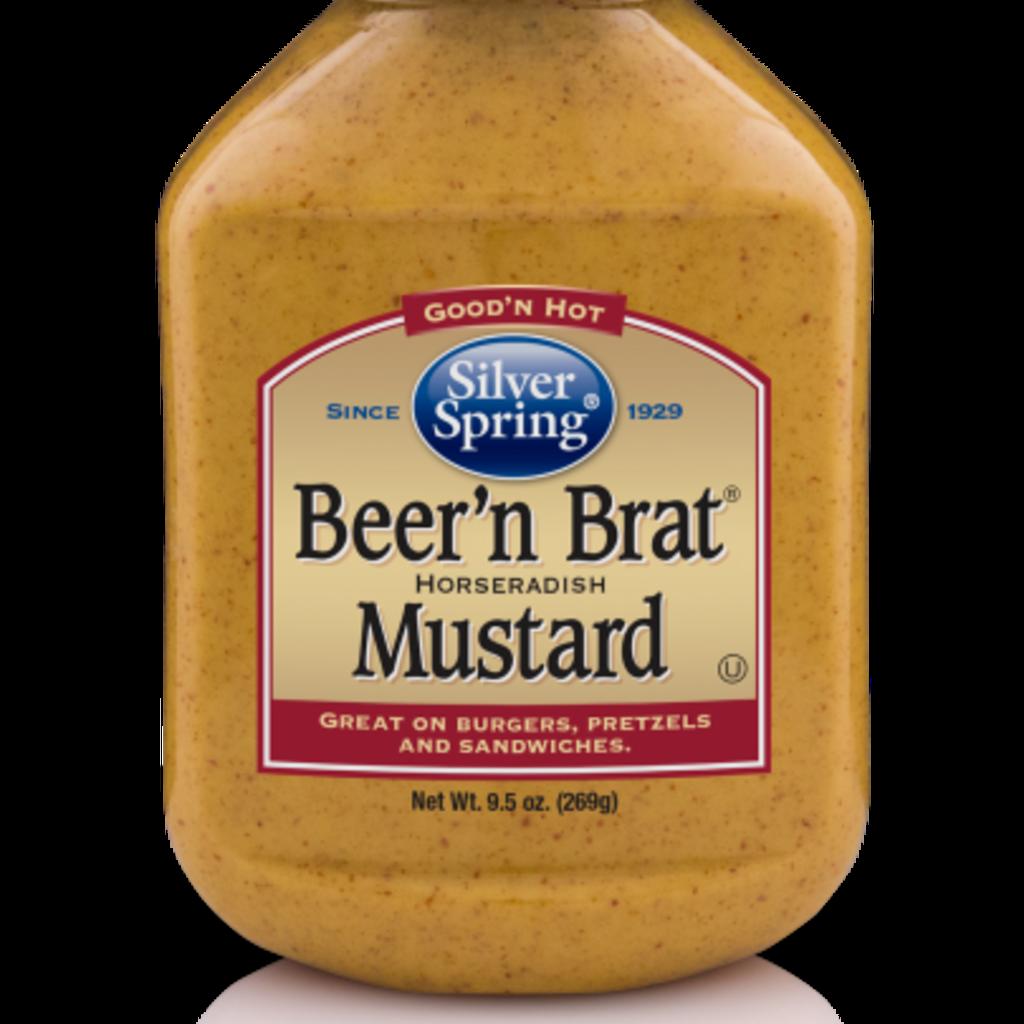 Silver Spring Foods Beer 'n Brat Mustard (9.5 oz.)