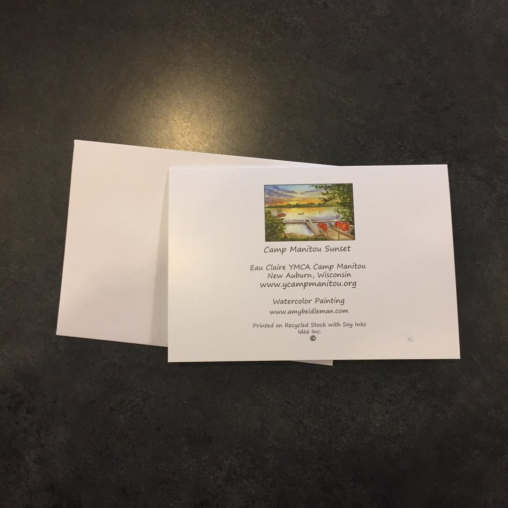 Amy Beidleman Manitou Sunset Greeting Card