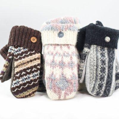 Smitten Sisters Sweater Mittens