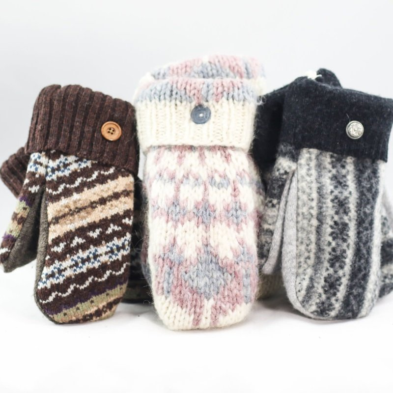 Smitten Sisters Sweater Mittens