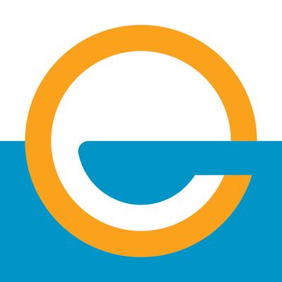 Eau Claire Flag Sticker - Eau Claire Flag