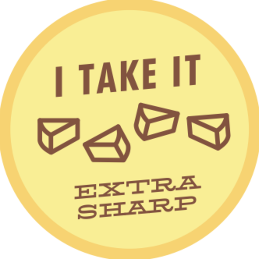 Volume One Sticker - I Take It Extra Sharp