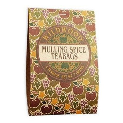 Wildwood Specialty Foods Mulling Spice Teabags