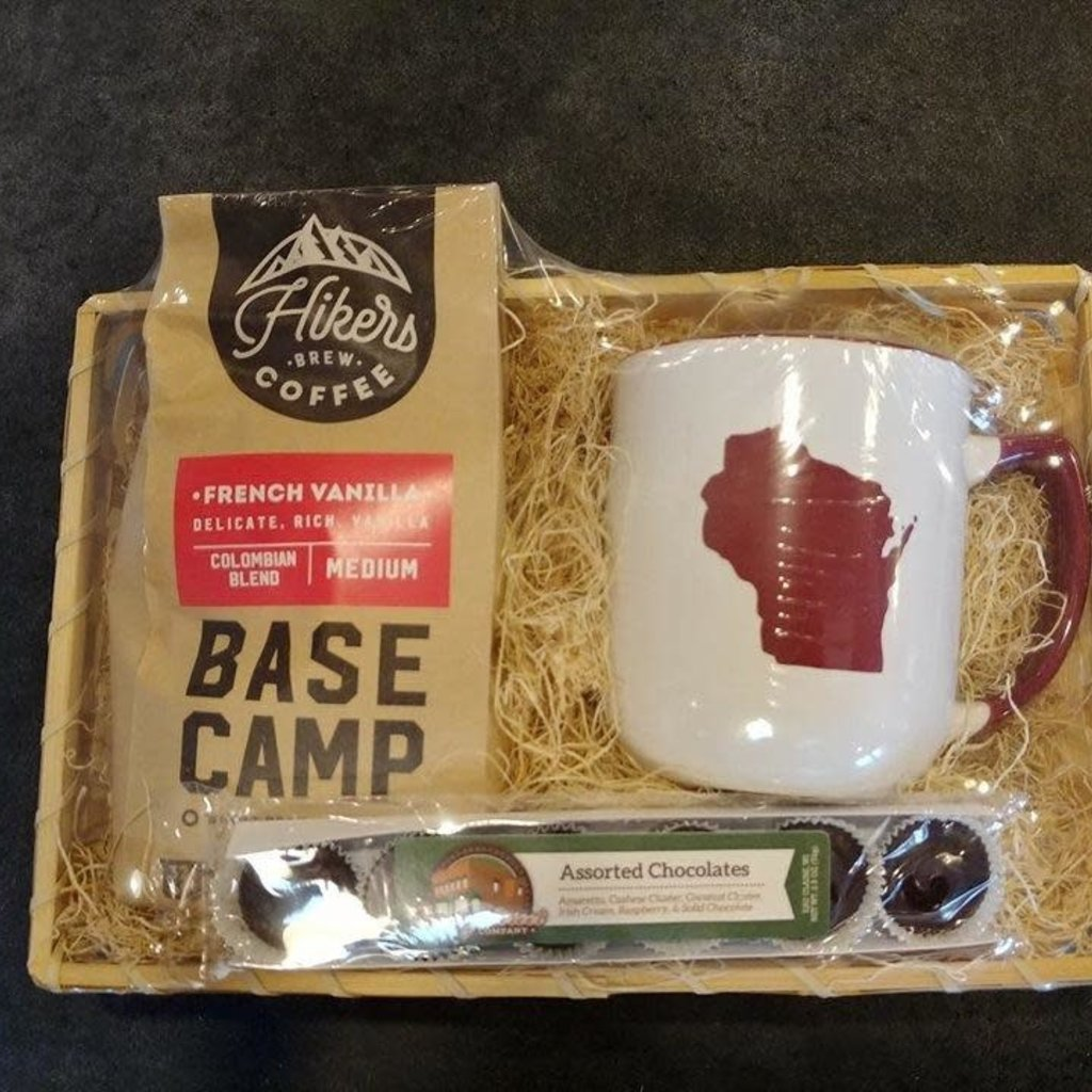 Volume One Gift Basket - Mug and Coffee