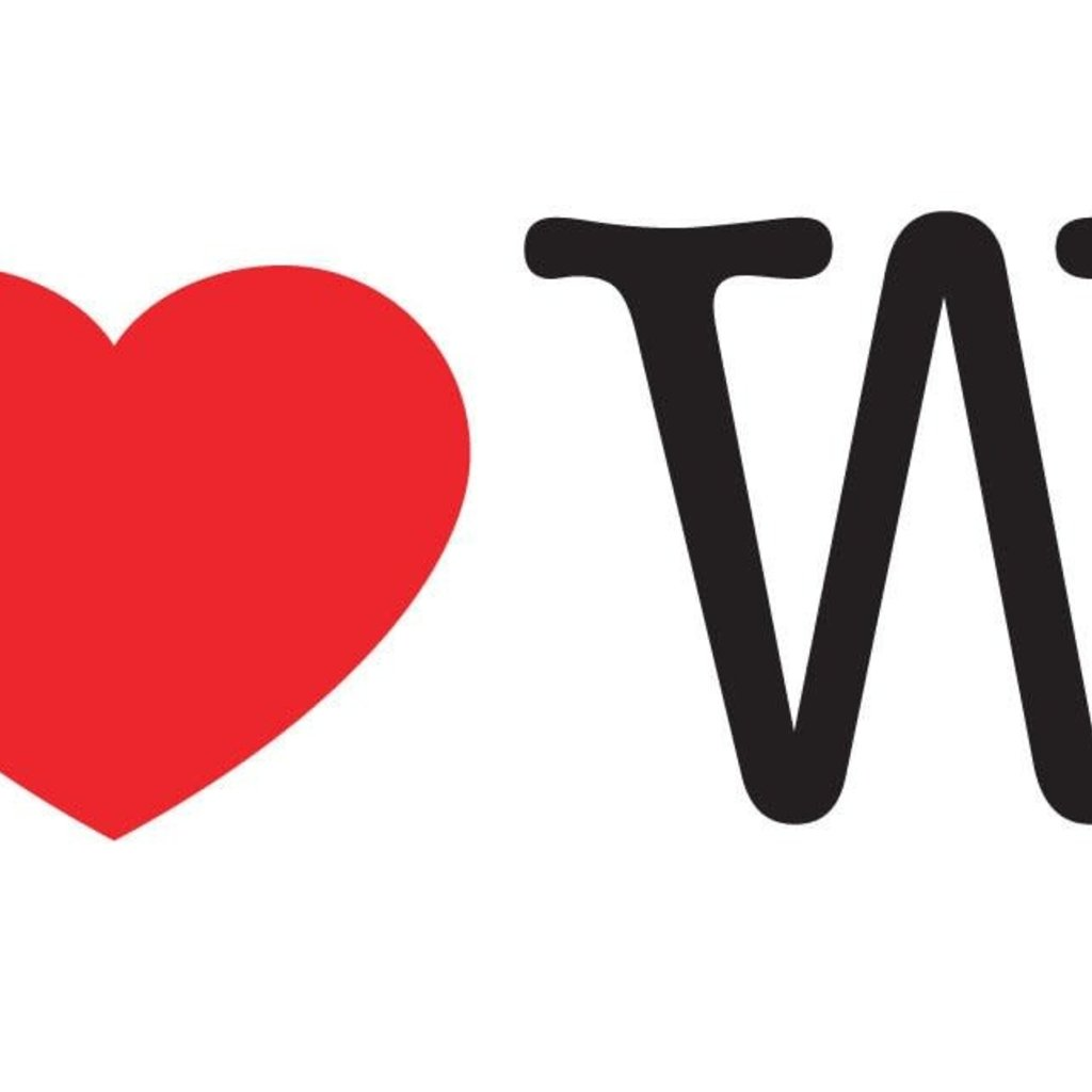 Volume One Sticker - I Heart WI