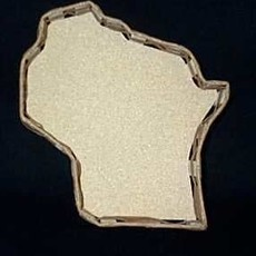 Volume One Build Your Own Gift Basket - Wisconsin Shaped (Large 13')