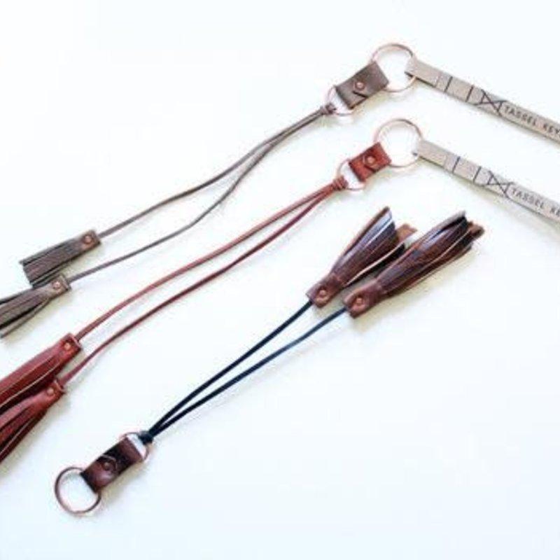 Dead Beat Leather Goods Keychain - Leather Tassle