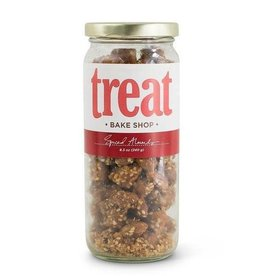 Treat Handmade Spiced Almonds (8.5 oz. Jar)