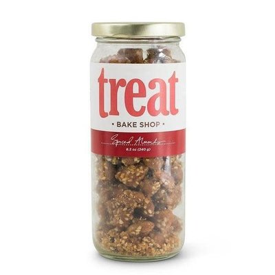 Treat Handmade Spiced Almonds (8.5 oz. Jar)