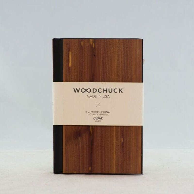 Woodchuck Wood Journal - Cedar