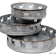 Volume One Deer Metal Tray - Small