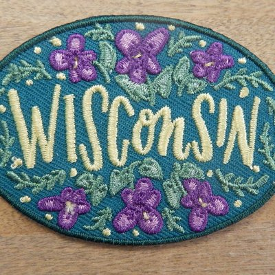 Anthology Patch - Wisconsin Wood Violet Flowers