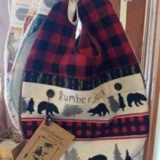 Deb Christenson Bib - Lumberjack
