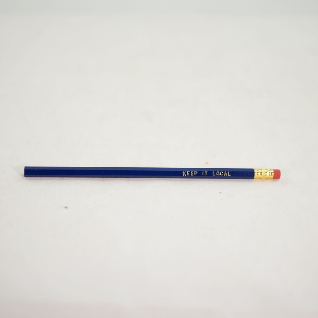 Volume One Pencil - Keep it Local