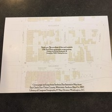 UWEC Geography Dept. EC Greeting Card 1897