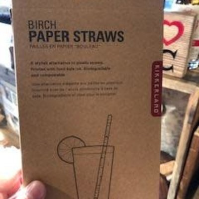 Volume One Birch Paper Straws