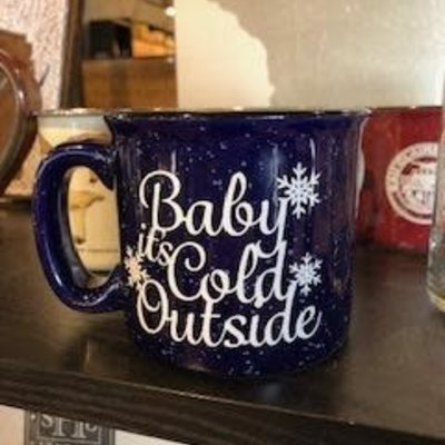 NAP Creations Baby It's Cold Outside Campfire Mug