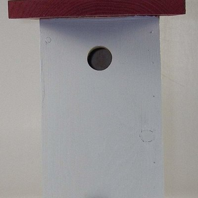 Timberway Designs Bird House - Chickadee Square